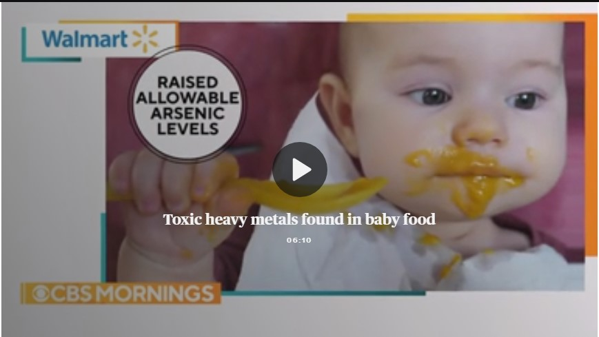 High levels of toxins found in more baby food brands, government report says