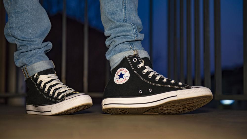 Converse Unveils Designer Shoes with Satanic Symbol Replacing Brand's Star Logo