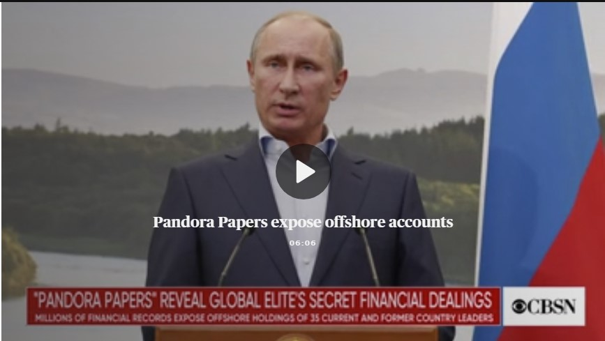 Pandora Papers reveal billions hidden by the rich and powerful