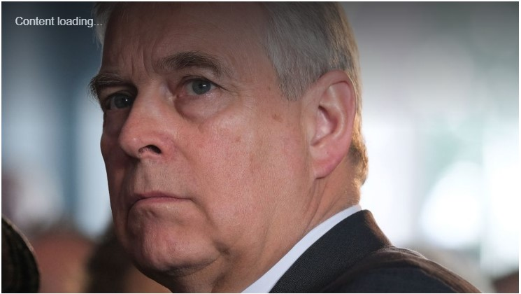 Prince Andrew trending details picture